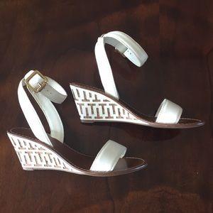 Toy Burch wedge sandal